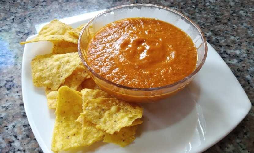 receta de salsa de enchilada casera