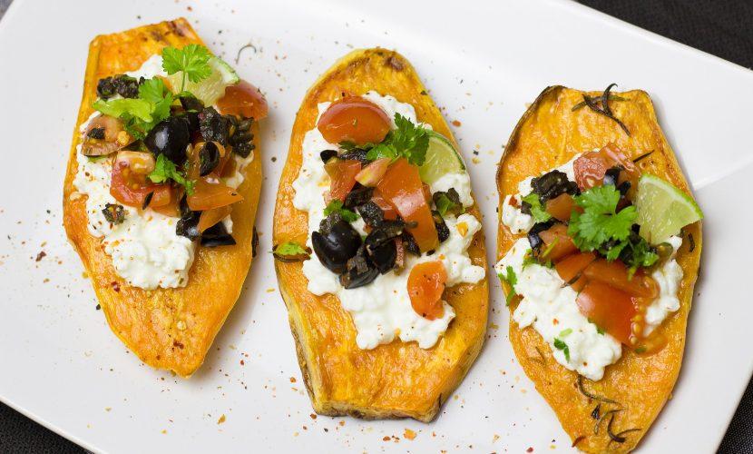 receta vegetariana de batata
